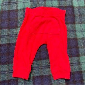 🌟5/15$🌟 Cherry red leggings w/front pocket